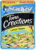 Starkist Tuna Creations, Lemon Pepper, Single Serve 2.6-Ounce Pouch (Pack of 5)