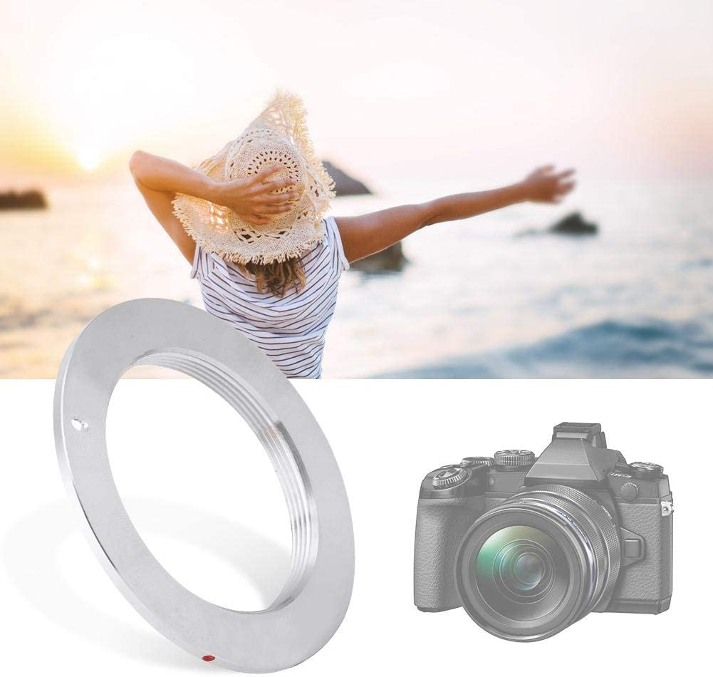 Serounder Manual Focus Lens Adapter Ring,M42-AI Copper 2M Focus Camera Adapter Ring Converter for M42 Mount to for Nikon Camera,Support Manual Control,Manual Exposure,Aperture Priority