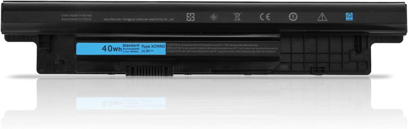 Batterymarket Replacement XCMRD (14.8V 40WH) Laptop Battery Compatible with Dell Inspiron 14 15 17 14R 15R 17R Vostro 2421 2521 3421 3521