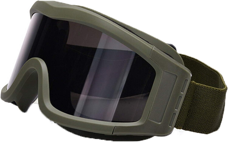 Blisfille Gafas Protectoras Ordenador Niños Gafas de Caza Y Tiro,Negro