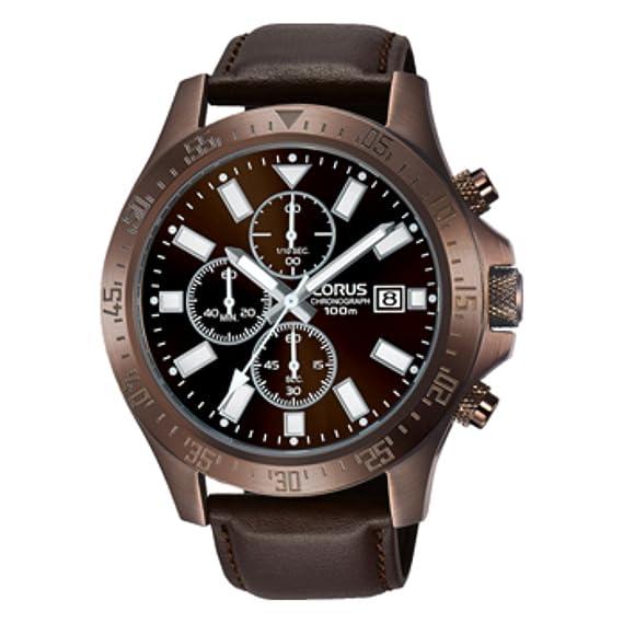 5424d4633148 Lorus RM305EX9 Reloj Cuarzo para Hombre  Amazon.com.mx  Relojes
