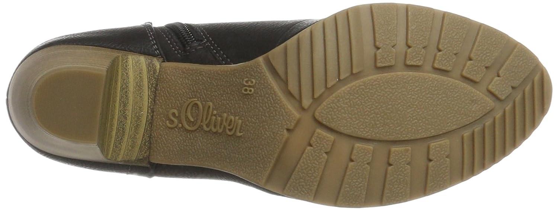 S.Oliver Damen Schwarz 25133 Stiefel Schwarz Damen (schwarz Comb) dbb040