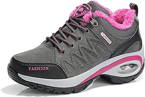 Aitaobao Womens Walking Boots Lace Up