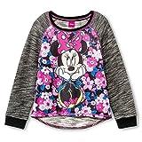 Disney Minnie Mouse Sitting Pretty Black Sweatshirt For Girls (XS (4/5))