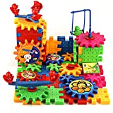 MAZIMARK--81Pcs Plastic Building Blocks Puzzle Toys for Kids Children Educational Toy Gift