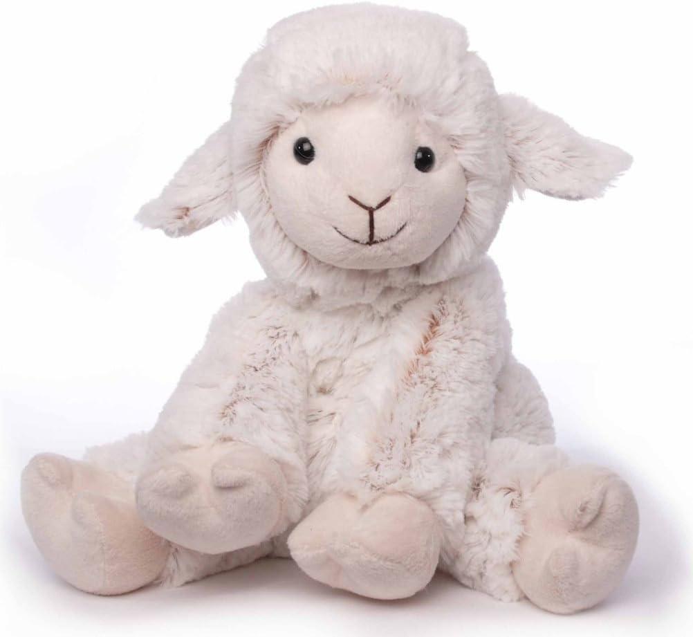 Inware 5912 - Peluche de oveja Beo, sentado, crema, 19 cm