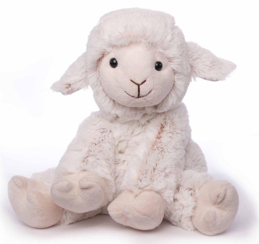 Inware 5910 - Peluche Mouton Beo, assis, crème, 15 cm
