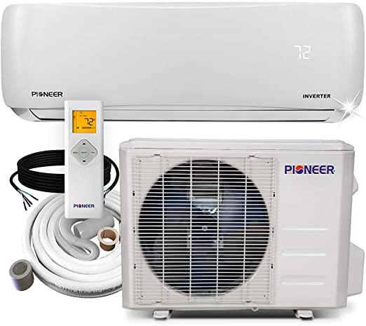 Amazon.com: Pioneer Air Conditioner WYS012A-19 Wall Mount Ductless