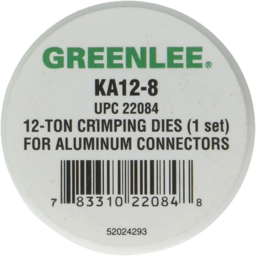 Greenlee KA12-8 CRIMPING TOOL DIE