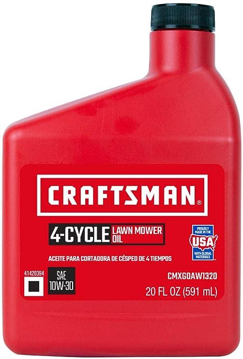 Craftsman SAE 10W30 - Aceite para cortacésped: Amazon.es: Jardín