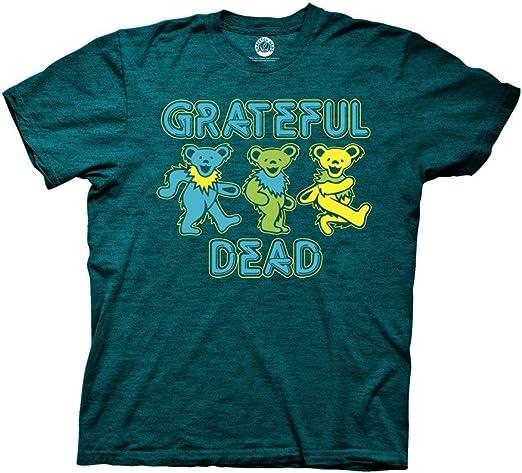 Ripple Junction Grateful Dead Three Dancing Bears Adult T-Shirt