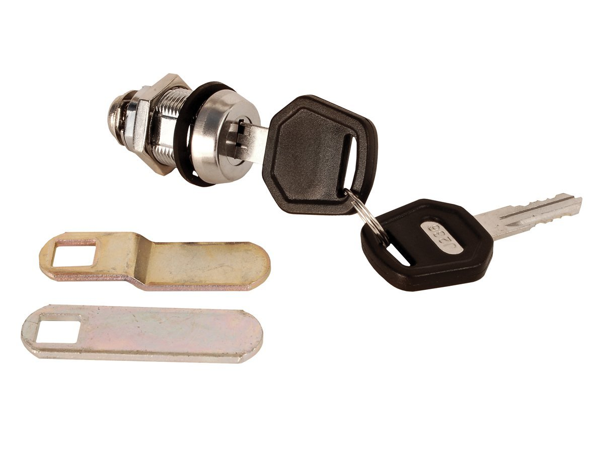 1-1//2 inch Keyed Compartment Lock Outdoor Hardware RV Designer L549 Weather Resistant