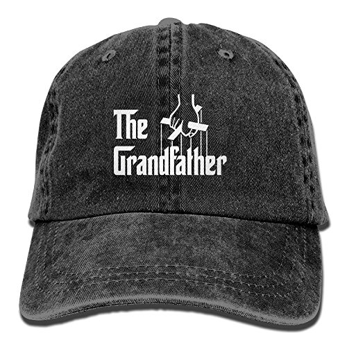 The Grandfather,Father's Gift Cotton Adjustable Jeans Caps Baseball Caps for Man and Woman ()
