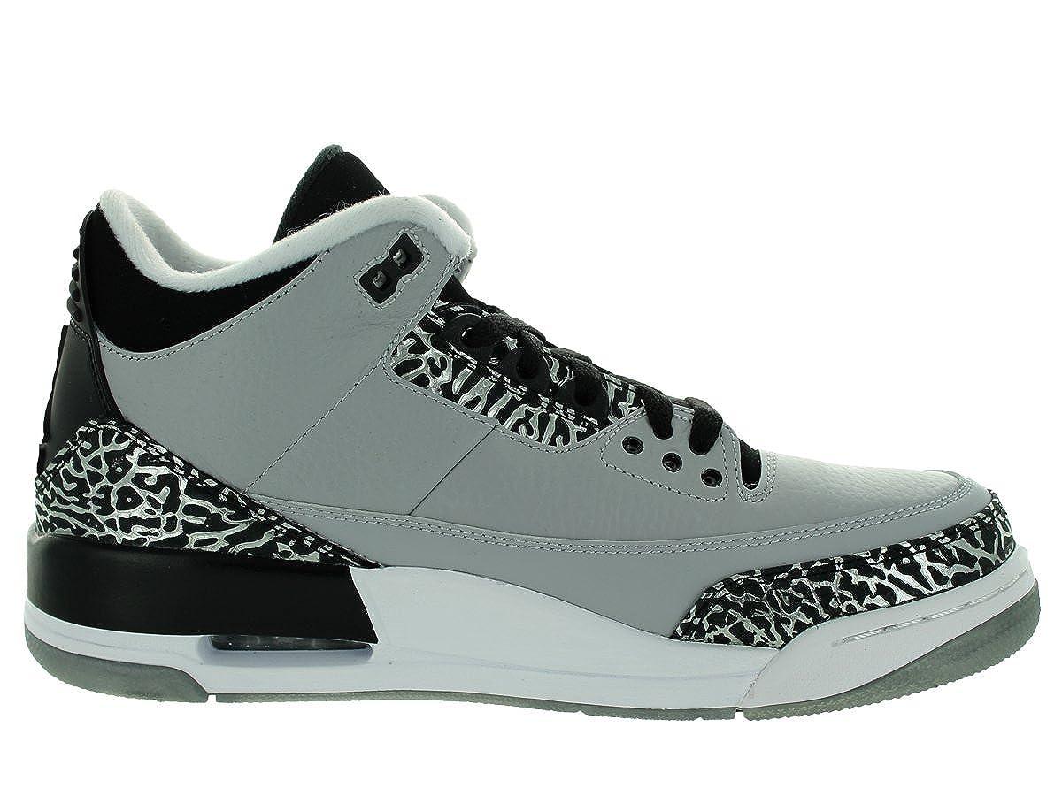 buy popular f976e 351b2 Nike Air Jordan 3 Retro Chaussures de Sport Homme  Amazon.fr  Chaussures et  Sacs