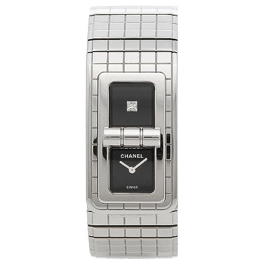 cddeb5c4afe8 Amazon   [シャネル] 腕時計 レディース CHANEL H5144 シルバー ブラック [並行輸入品]   並行輸入品・逆輸入品・中古品(レディース)    腕時計 通販