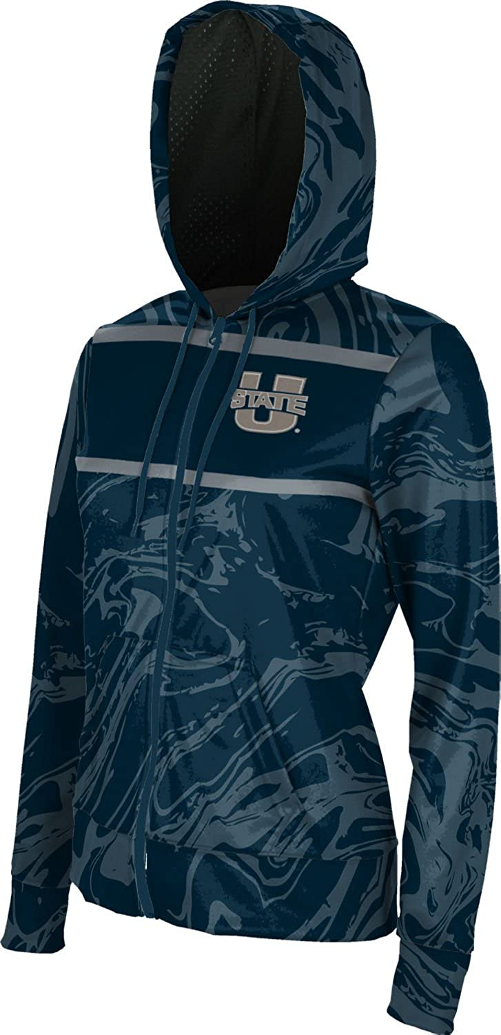 Ripple School Spirit Sweatshirt ProSphere Utah State University Girls Zipper Hoodie