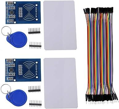 Amazon.com: RFID RC522 Módulo IC Lector de Tarjetas Leer RF ...