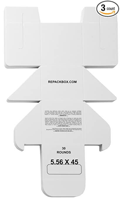 Amazon.com: repackbox – You get 3 cajas de muestra – 5,56 x ...