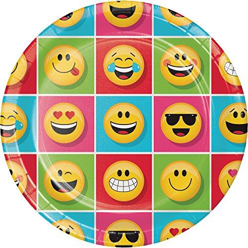 Creative Converting Sturdy Dinner Emojions