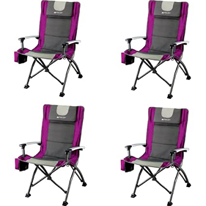 Amazon.com: Ozark Trail Ultra High Back Silla plegable de ...