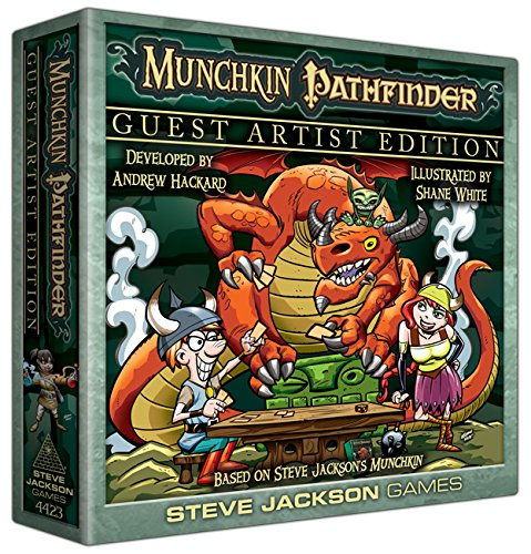 Munchkin Pathfinder Guest Artist Edition Card Game