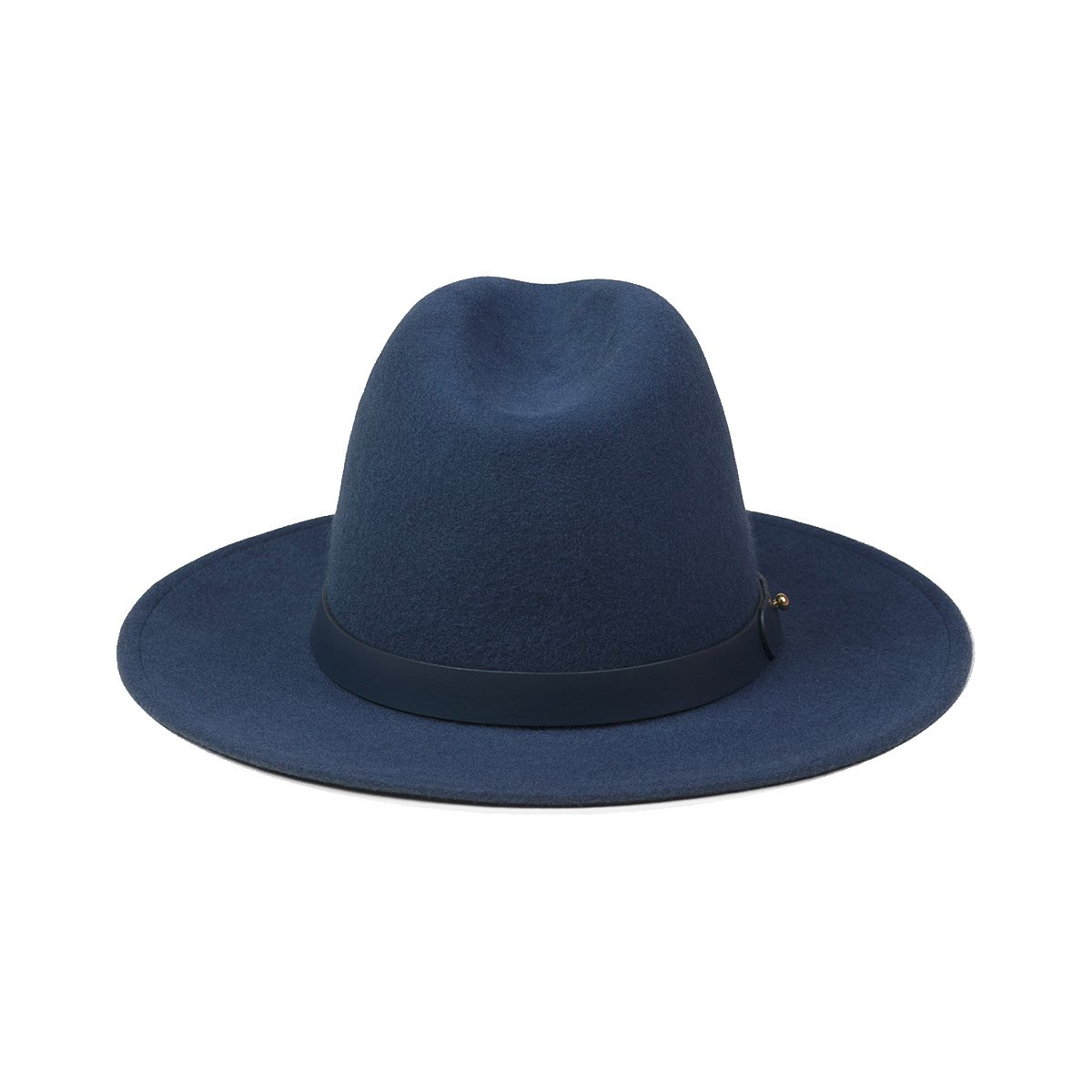 Lack of Color Women's Midnight Mack Classic Luxe Fedora (Navy, Medium (57cm)) by Lack of Color (Image #3)