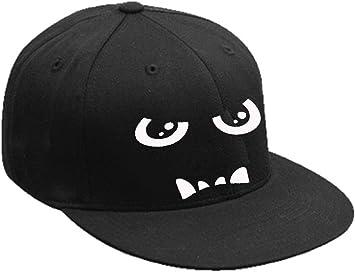Gorro Béisbol Gorra Con Visera Plana ojos Devil Eyes hip-hop Bad ...