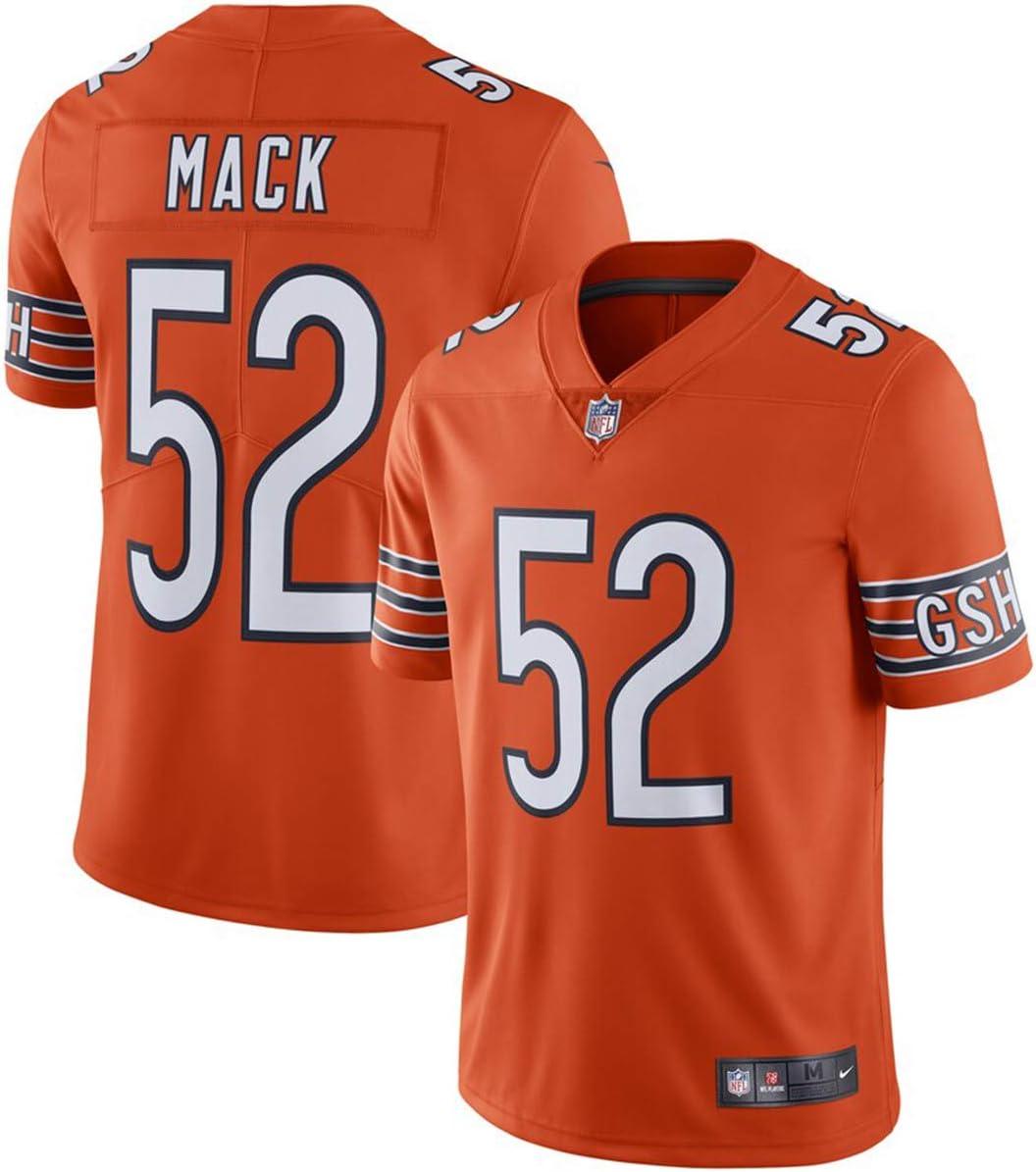 VF LSG Mens Chicago Bears #52 Khalil Mack Orange Jersey