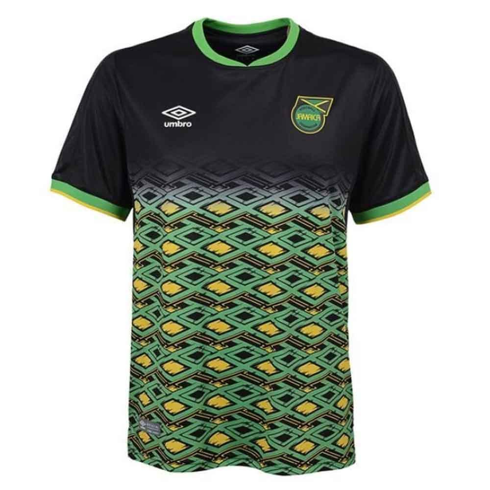 Umbro 2018-2019 Jamaica Away Football Soccer T-Shirt Trikot (Kids)