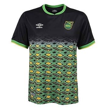 on sale bf638 adccb Umbro 2018-2019 Jamaica Away Football Soccer T-Shirt (Kids ...