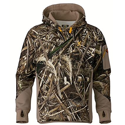 e8bfbb82fd9e3 Browning 3016167601 Wicked Wing Smoothbore Fleece Hoodie, Realtree Max 5,  Small