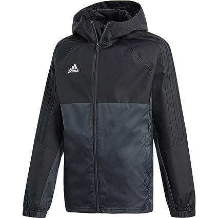 cc1db8fed12b Amazon.com  Adidas Youth Tiro 17 Soccer Rain Jacket  Sports   Outdoors