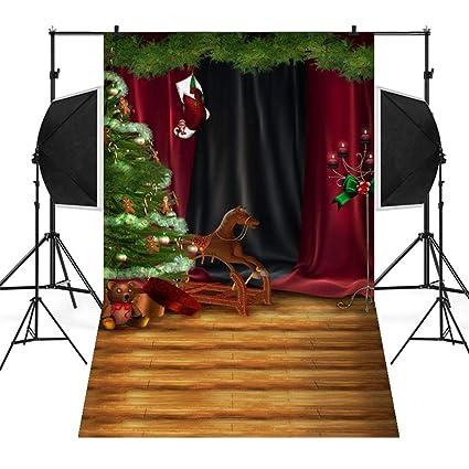 Studio C Christmas.Amazon Com Sunshinehomely Christmas Backdrops Snow Vinyl