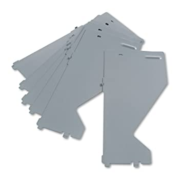 HON 515704X Extra Shelf Dividers for HON Lateral Files, Metal, 7-1/