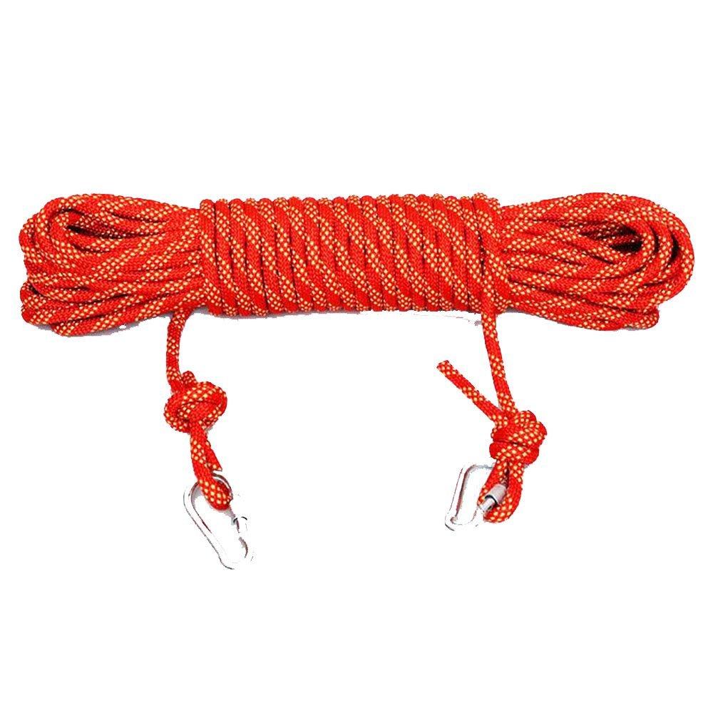 Rouge Schlingen Corde D'Escalade équipement De Plein Air Corde De Verrouillage D'alpinisme évasion Corde Statique Corde De Descente,bleu-10m12mm 15m12mm