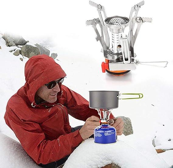 Camping Cookware Stove Mini Tripod Folding Miniature Stove Burner OK