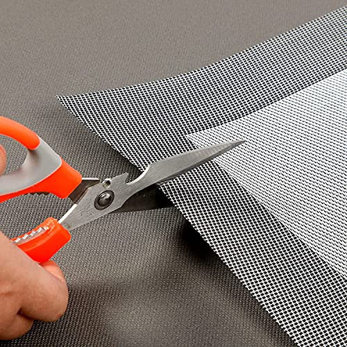 Yapoly Placemats for Dining Table - Table Mats Set of 6 Made Washable Vinyl Woven - Place Mats Non-Slip, Easy to Clean, Waterproof and Heat-Resistant - 18x12 inches(45x30cm)