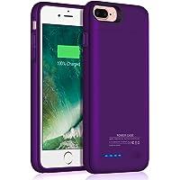 Iphone 8 Plus/7 Plus Battery Case/JUBOTY 4200mAh Slim Rechargable Protective Portable Charging Case for Iphone 8 Plus/7 Plus Juice Power Bank Battery Charger Case
