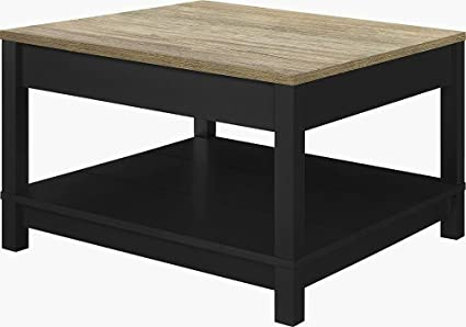 Miraculous Amazon Com Wide Square Coffee Table Black Large Cocktail Gamerscity Chair Design For Home Gamerscityorg