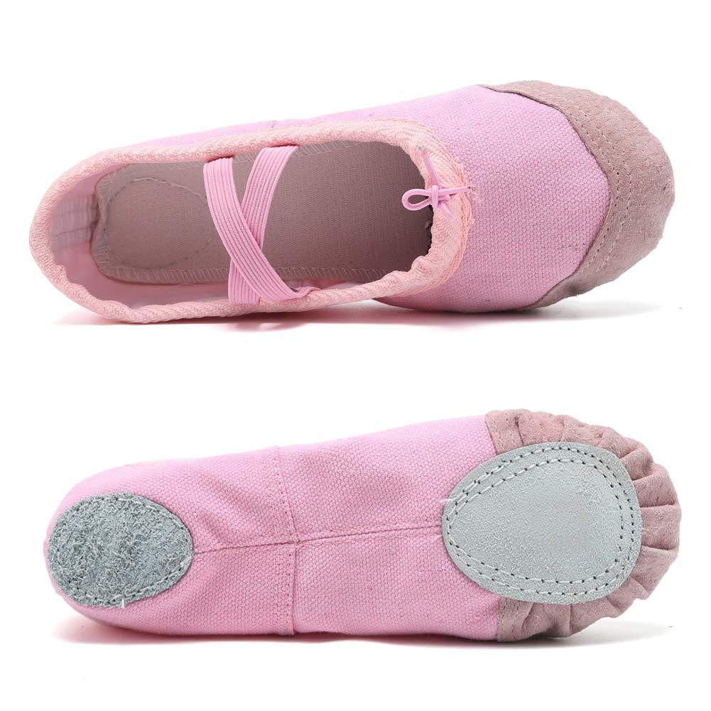 Ballet Shoes Ballet Slippers Girls Ballet Flats Canvas Dance Shoes Yoga Shoes Toddler//Little Kid//Big Kid//Women//Boy