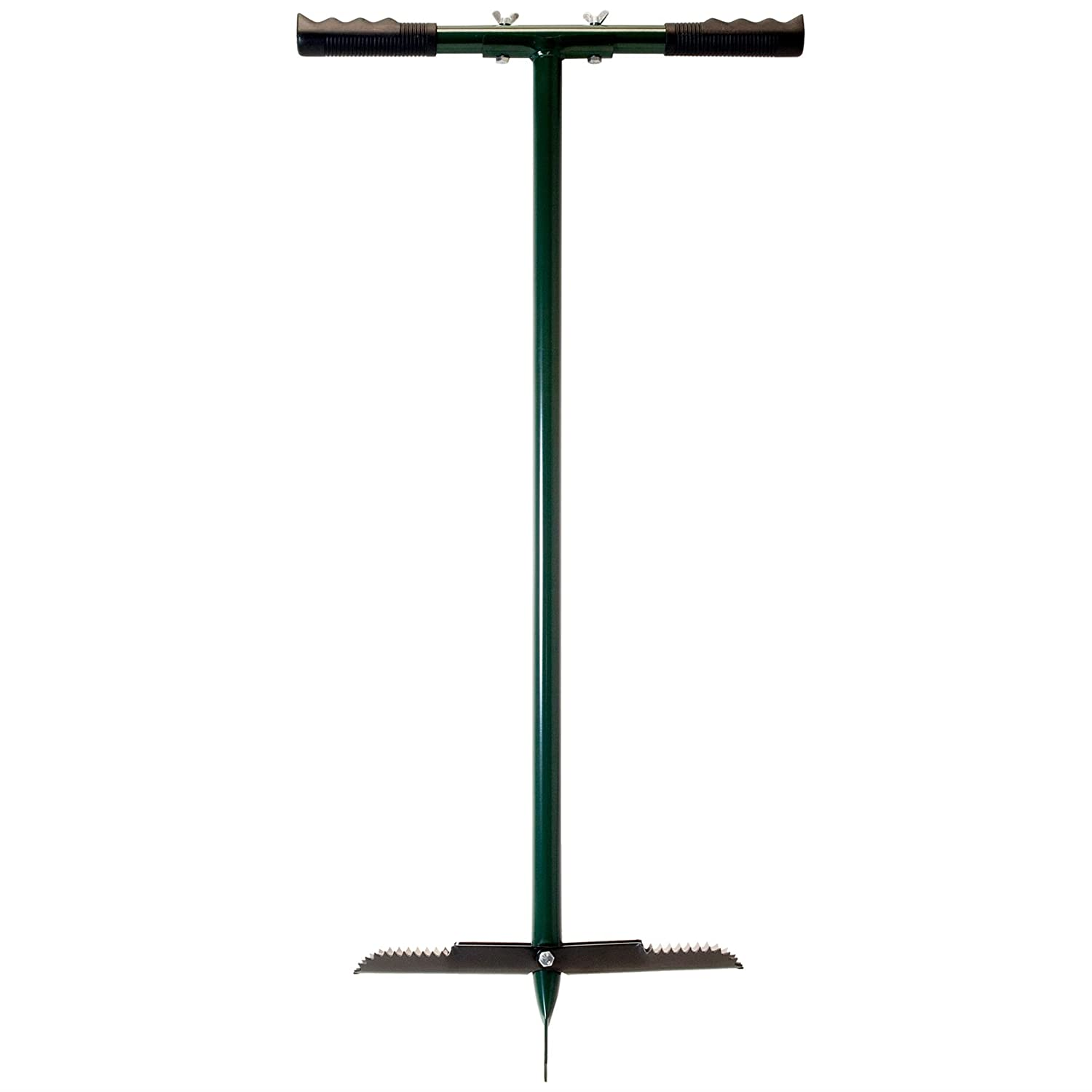 Compost Aerating Gardening Tool Made From Iron With Comfortable Handles Great Ideas By Post