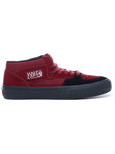 6d24386ccc Vans Men s Half Cab Pro  Cabernet Black Black. Cabernet Black Black 10.5  UK  Buy Online at Low Prices in India - Amazon.in
