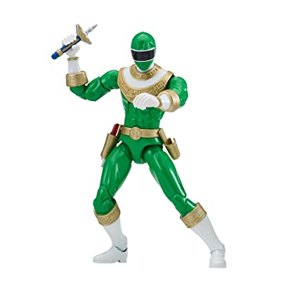 """Power Ranger 6.5"""" Legacy Action Figure, Zeo Green: Toys & Games"""