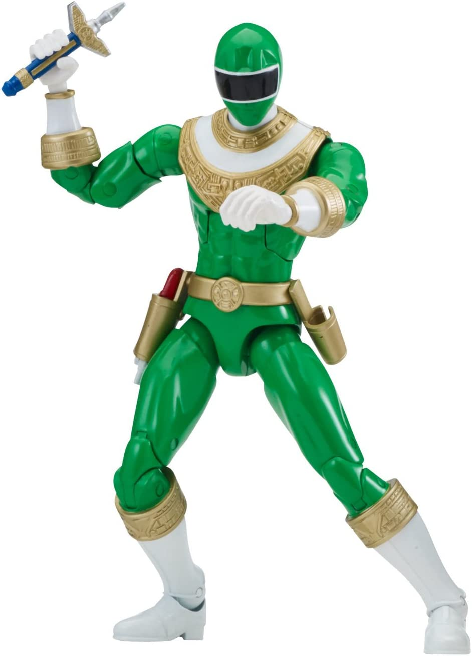 "Power Ranger 6.5"" Legacy Action Figure, Zeo Green"