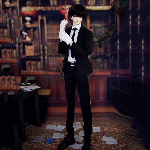 New Handsome fashion Classic Black//White Shorts BJD 1//3 SD Doll Clothes