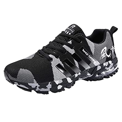 ba1e1581b7a ... Shoes Air Trainers Fitness Casual Sports Walk Gym Jogging Athletic Sneakers  Men Sports Shoes Running Sneakers Size 6.5-12: Amazon.co.uk: Shoes & Bags