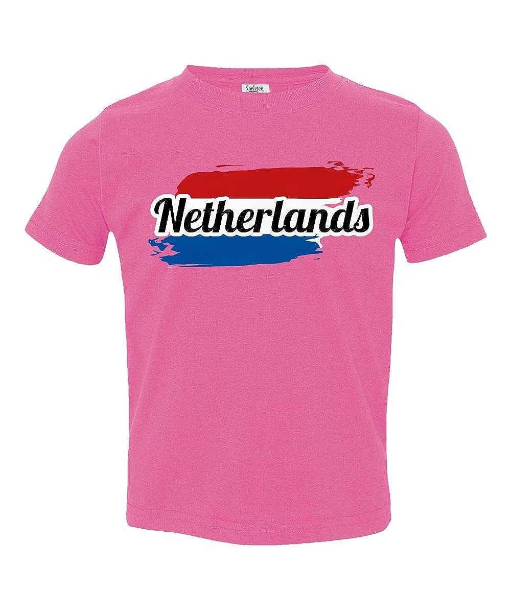 Societee Netherlands National Pride Little Kids Girls Boys Toddler T-Shirt