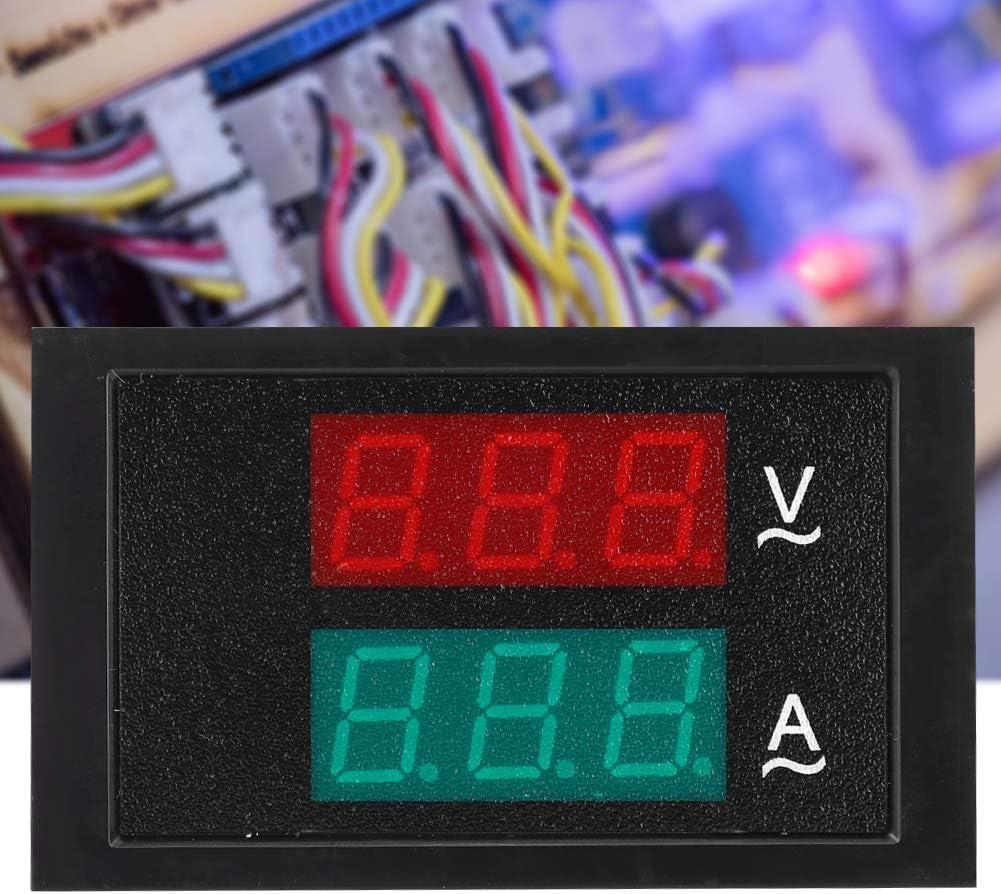 DL85-2042 Ammeter Voltmeter Dual Display Digital Current Voltage Power Energy Meter Multimeter AC 80V-300V 0-100A Amp Voltage Power Meter Tester