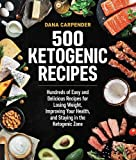 img - for 500 Ketogenic Recipes: Hundreds of Easy and Delicious Recipes for Losing Weight, Improving Your Health, and Staying in the Ketogenic Zone book / textbook / text book