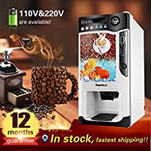 Yoli with cooling and heating function,commercial automatic instant coin operated tea coffee vending machine,3 hot drinks, 3 cold drinks